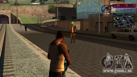 C-HUD Project Capture 6 pour GTA San Andreas deuxième écran