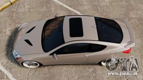Hyundai Genesis Coupe 2013 für GTA 4 rechte Ansicht