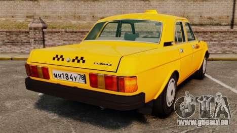 Gaz-31029 taxi pour GTA 4 Vue arrière de la gauche