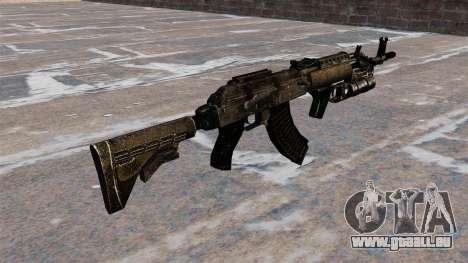 AK-47 GP-25 für GTA 4 Sekunden Bildschirm