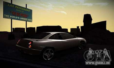 Fiat Coupe pour GTA San Andreas vue de droite