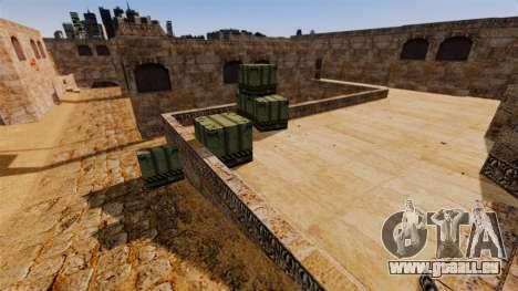 Lage von Counter-Strike De_Dust2 für GTA 4 dritte Screenshot
