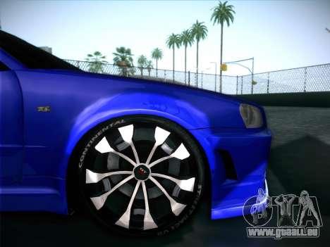 Nissan Skyline GTR für GTA San Andreas Innen