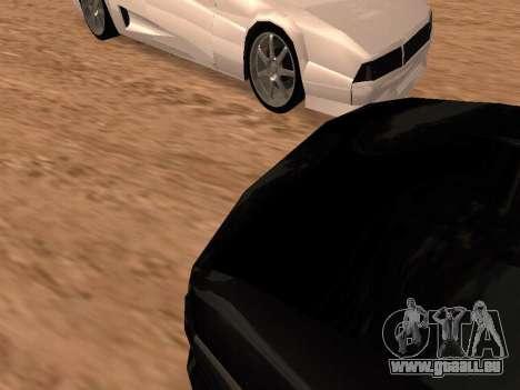Sheetah Restyle für GTA San Andreas Seitenansicht