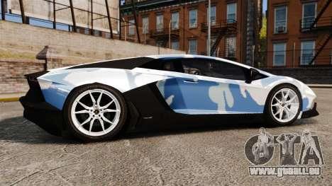 Lamborghini Aventador LP700-4 LE-C 2014 pour GTA 4 est une gauche