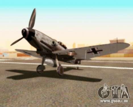 Bf-109 G10 für GTA San Andreas