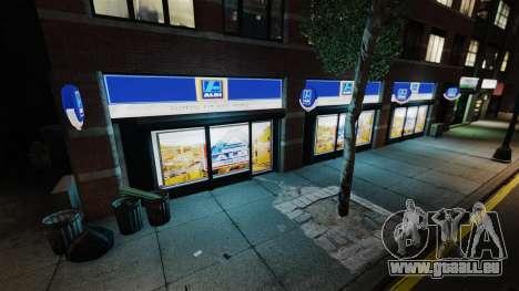 Magasins Aldi pour GTA 4 quatrième écran