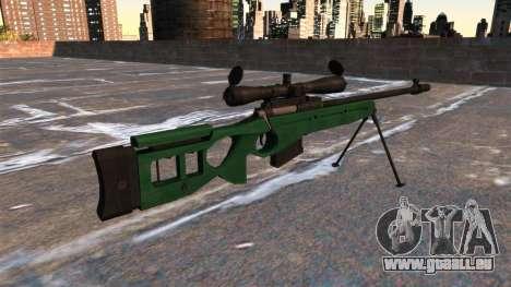 SV-98 Scharfschützengewehr für GTA 4 Sekunden Bildschirm