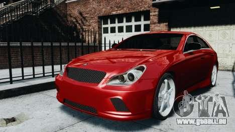 Mercedes-Benz CLS AMG pour GTA 4 Vue arrière de la gauche