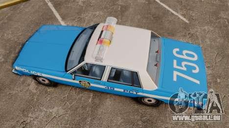 Chevrolet Caprice 1987 NYPD pour GTA 4 est un droit