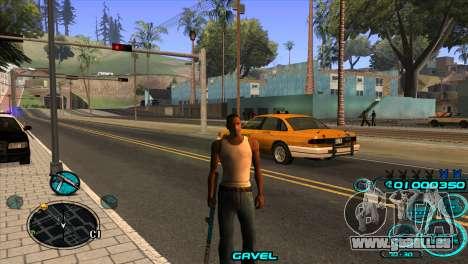 C-HUD Candy Project pour GTA San Andreas troisième écran
