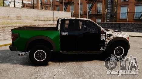 Ford F-150 SVT Raptor 2011 ArmyRat für GTA 4 linke Ansicht