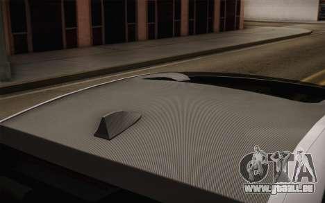 BMW M5 2012 pour GTA San Andreas vue de droite