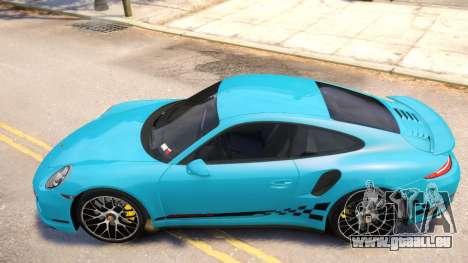 Porsche 911 Turbo 2014 [EPM] für GTA 4 hinten links Ansicht