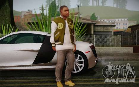 Franklin c. peau 2 pour GTA San Andreas troisième écran