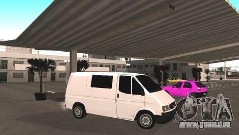 Renault Trafic für GTA San Andreas linke Ansicht