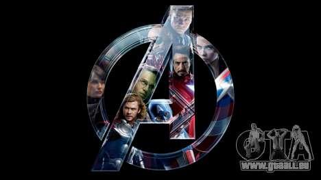 Boot-Bildschirm Avengers für GTA 4 sechsten Screenshot