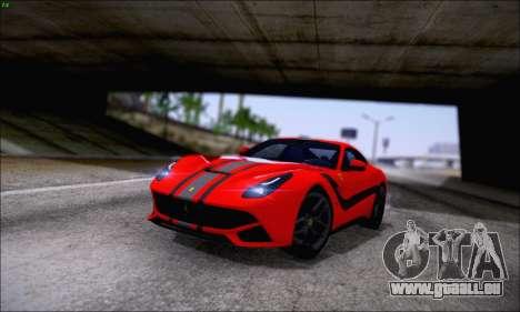 Ferrari F12 Berlinetta Horizon Wheels für GTA San Andreas Seitenansicht