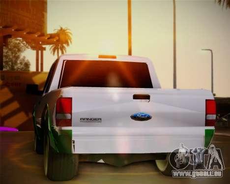Ford Ranger 2005 für GTA San Andreas Seitenansicht