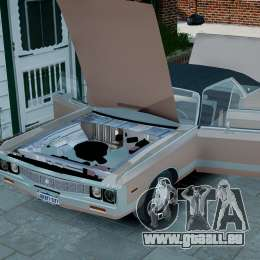 Chrysler New Yorker 1971 für GTA 4 Innenansicht