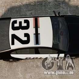GTA V Vapid Police Interceptor für GTA 4 rechte Ansicht