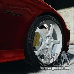 Mercedes-Benz CLS AMG für GTA 4 Rückansicht