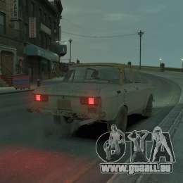 AZLK 2140 S. t. A. l. k. e. R für GTA 4 linke Ansicht