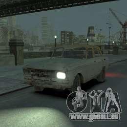 AZLK 2140 s. t. a. l. k. e. R pour GTA 4