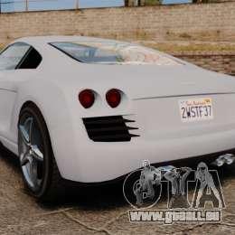 GTA V Obey 9F [Updated] pour GTA 4 Vue arrière de la gauche