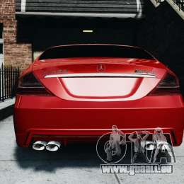 Mercedes-Benz CLS AMG für GTA 4 rechte Ansicht