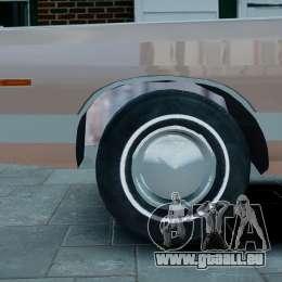 Chrysler New Yorker 1971 für GTA 4 Rückansicht