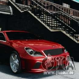 Mercedes-Benz CLS AMG für GTA 4