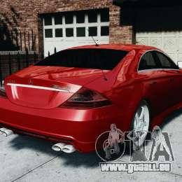 Mercedes-Benz CLS AMG für GTA 4 linke Ansicht