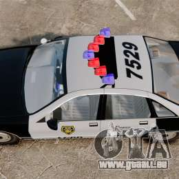 Chevrolet Caprice Police 1991 v2.0 LCPD pour GTA 4 est un droit