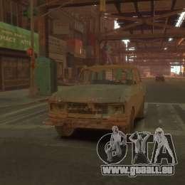 AZLK 2140 s. t. a. l. k. e. R pour GTA 4 Vue arrière