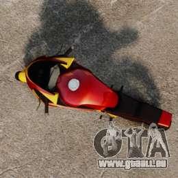 GTA IV TLAD Double pour GTA 4 Vue arrière de la gauche