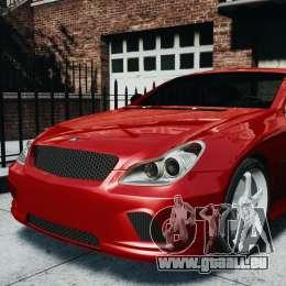 Mercedes-Benz CLS AMG für GTA 4 hinten links Ansicht