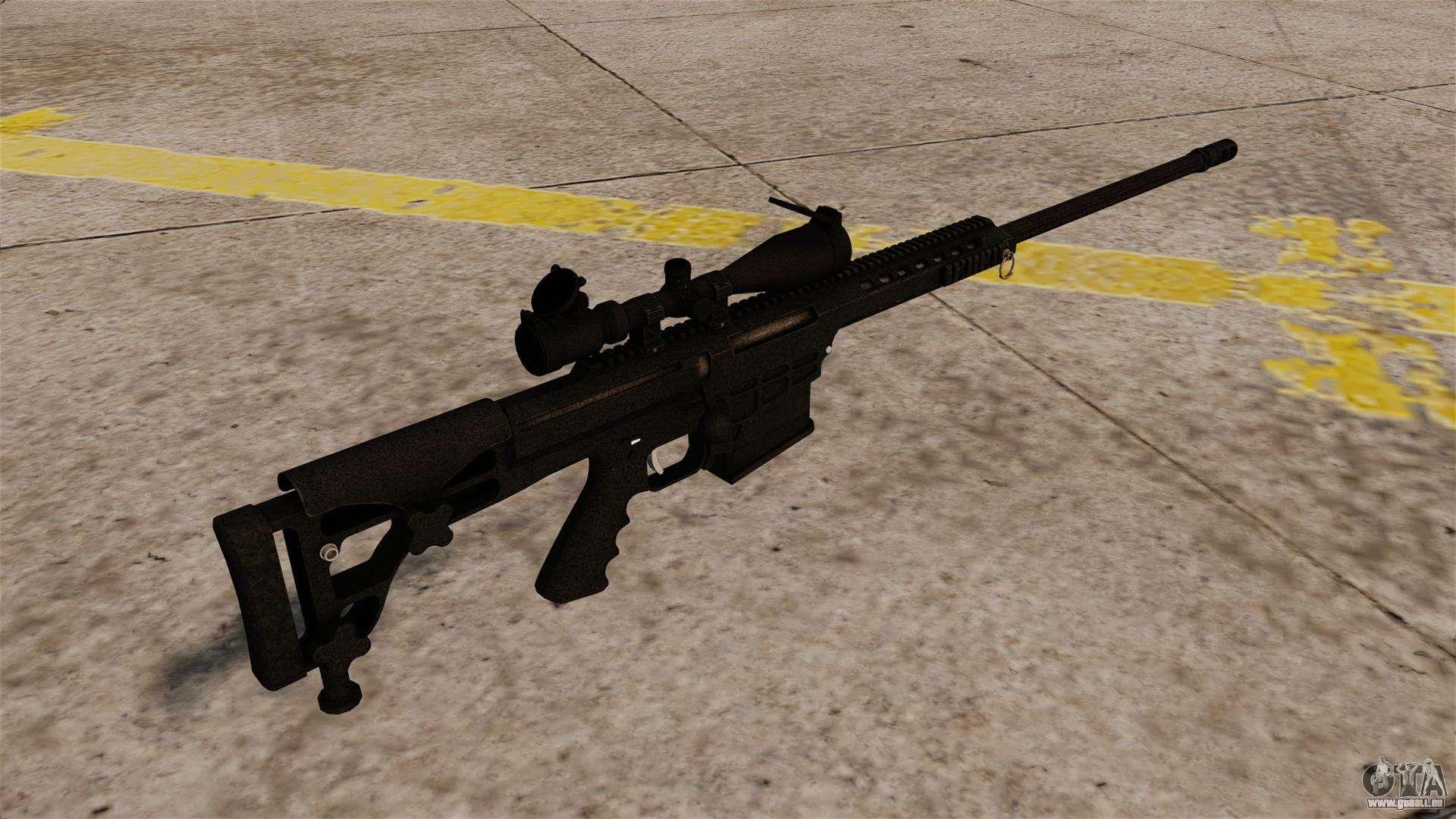 Das Barrett M98b Gewehr Für Gta 4