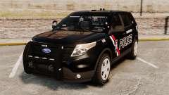 Ford Explorer 2013 Utility - Slicktop [ELS] für GTA 4