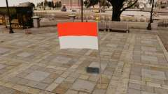 Indonesischen Flagge