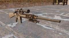 Le fusil de sniper M110