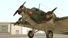 Junkers Ju-52 für GTA San Andreas