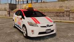 Toyota Prius 2011 Warsaw Taxi v4