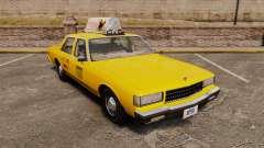 Chevrolet Caprice 1987 L.C.C. Taxi pour GTA 4