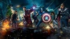 Boot-Bildschirm Avengers