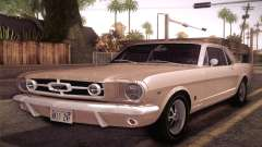 Ford Mustang GT 289 Hardtop Coupe 1965 pour GTA San Andreas