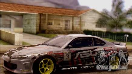 Nissan S15 Asus Team pour GTA San Andreas