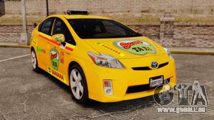 Toyota Prius 2011 Warsaw Taxi v1 für GTA 4