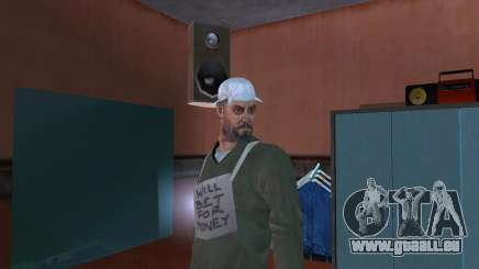 HD peau Bum pour GTA San Andreas