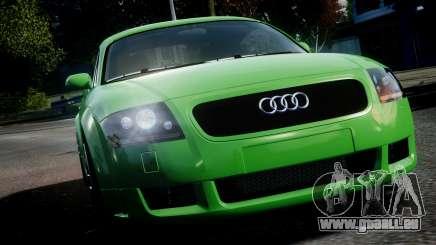 Audi TT Coupe 3.2 Quattro 2004 pour GTA 4